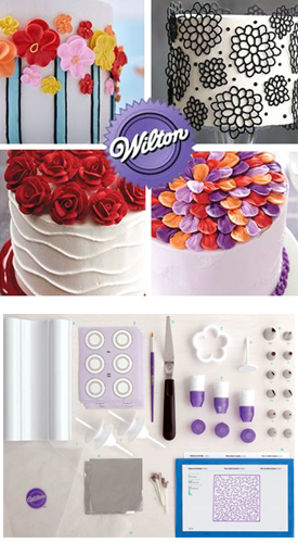 Wilton Course 2: Flowers and Cake Design