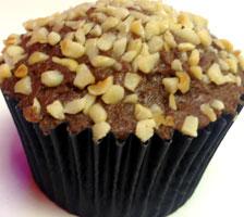 chocolate hazel-nutter cupcake
