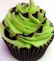 lime after lime cupcake