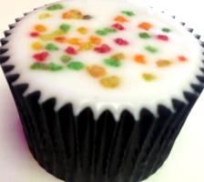 pineapple punch cupcake